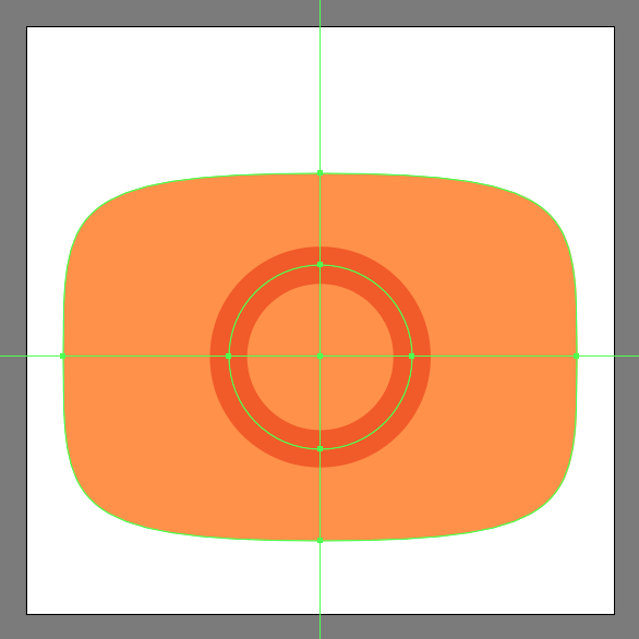 Create the main shape for the lens cutout