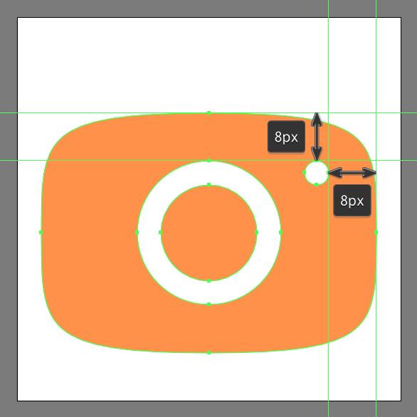 create flash cutout using Minus Front Shape Mode