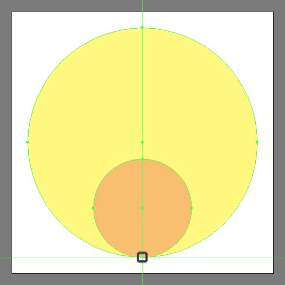 add ellipse for sun