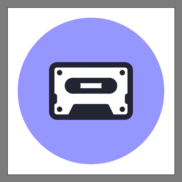 cassette tape icon final image