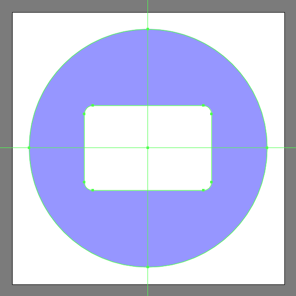 rounded rectangle for main body
