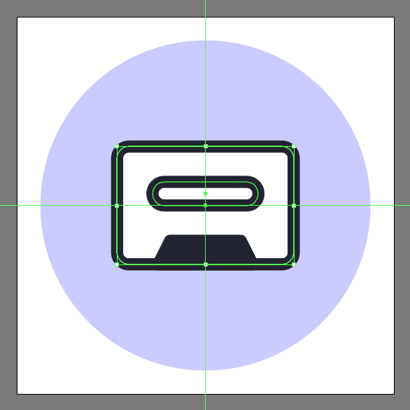 add rounded rectangle with 2px corner radius