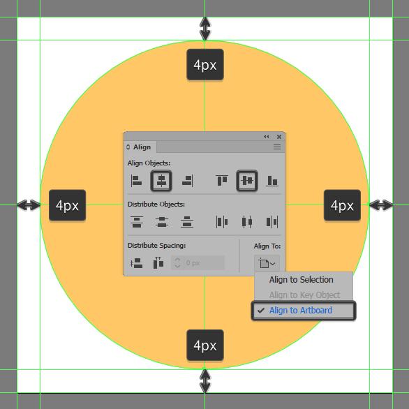 Align to dartboard