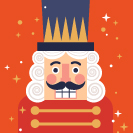 Christmas Nutcracker Icon Thumbnail