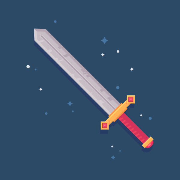fantasy sword icon