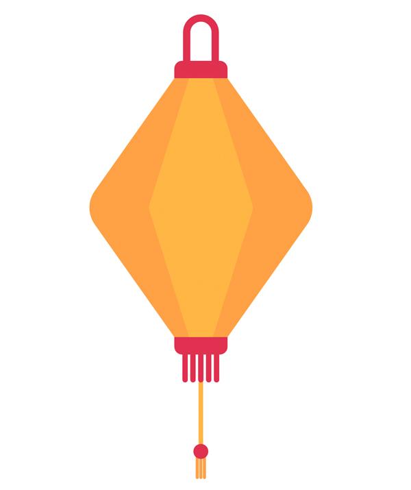 Lantern detailing