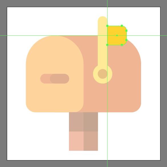 mailbox icon flag