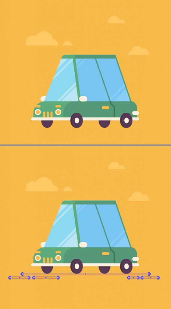 stylized flat car final image
