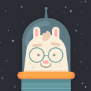 Space Bunny Thumbnail