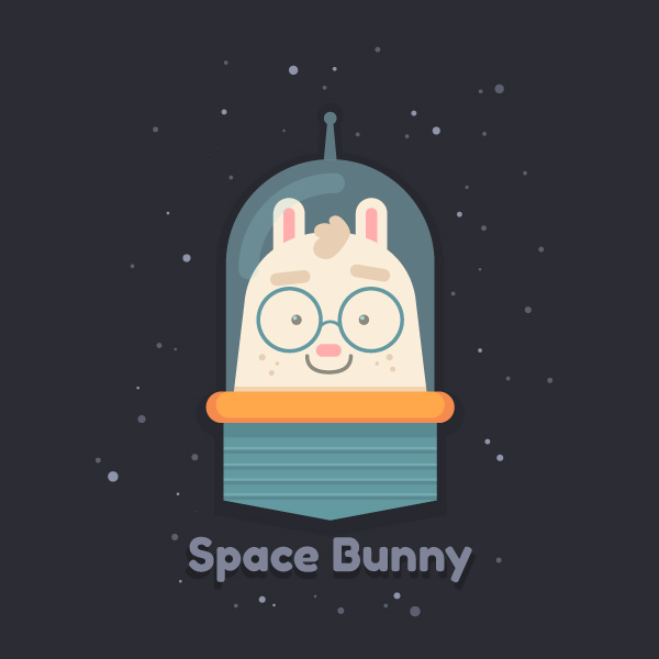 Space Bunny Final Image