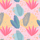 Tropical Summer Seamless Pattern Thumbnail