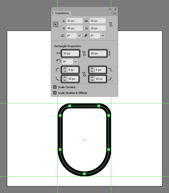 mouse shape