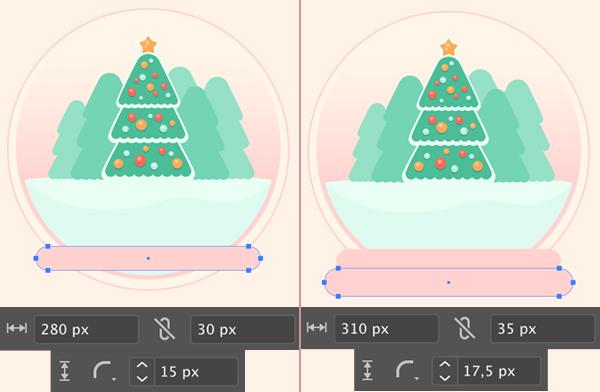 Christmas Tree Glass Ball Stand