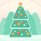 Christmas Tree Glass Ball thumbnail