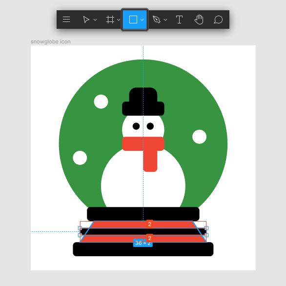 Finish Snow Globe Icon