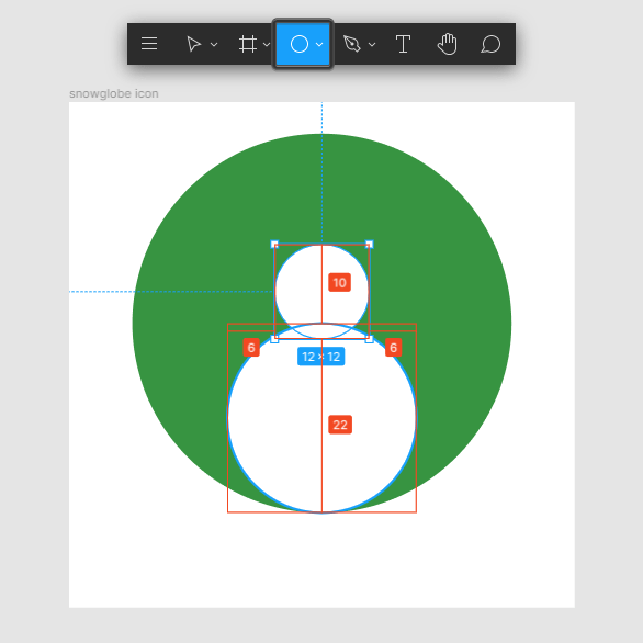 Snow Globe Icon Body Shape