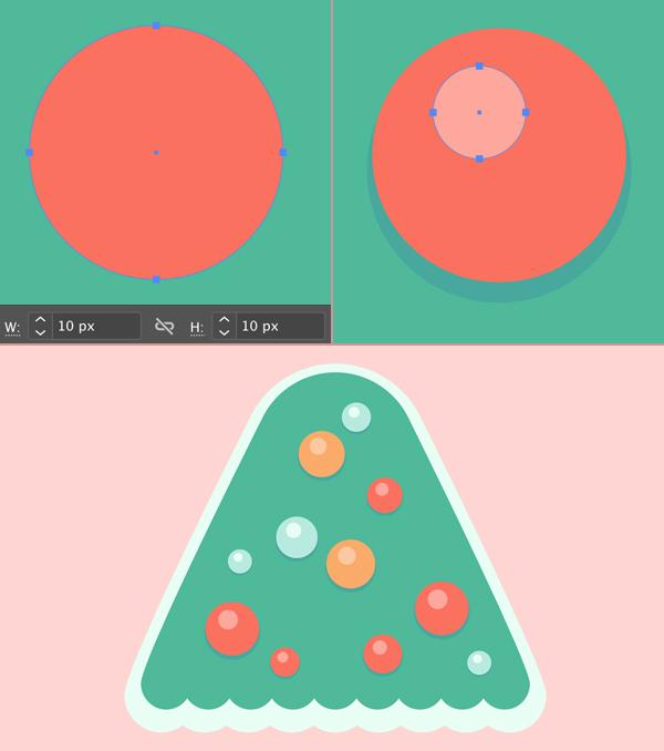 Christmas Tree Glass Ball Ornaments