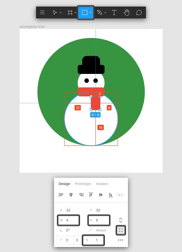 Snow Globe Icon Scarf