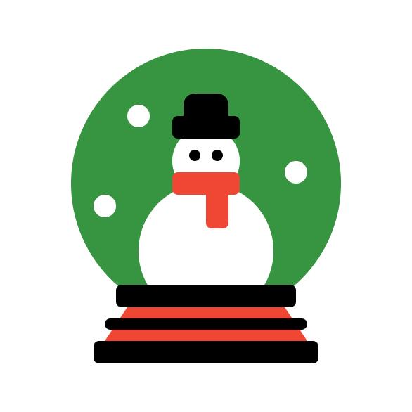 Snow Globe Icon Final Image
