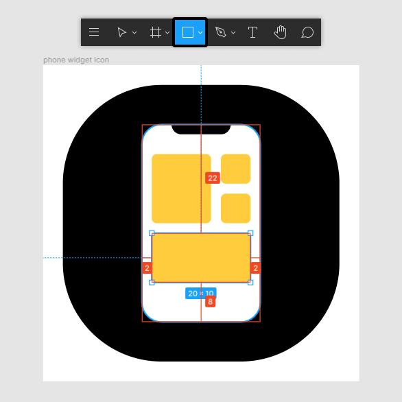 phone widget app icon